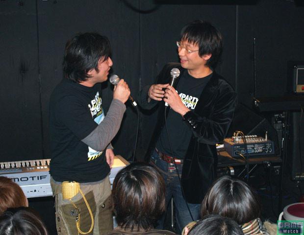 Goichi Suda i Hideo Kojima.