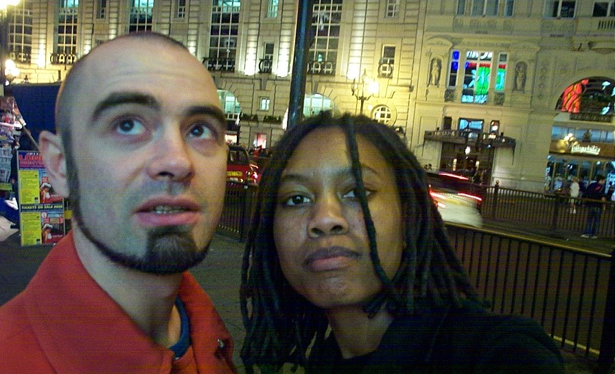Michaël and Auriea in 2000