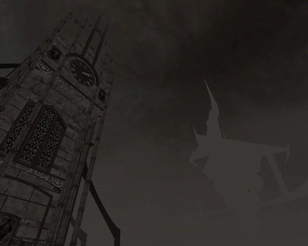 Niepoświęcona Katedra. A we mgle - budynek, który jest tryumfem Rozumu nad rzeczywistością.