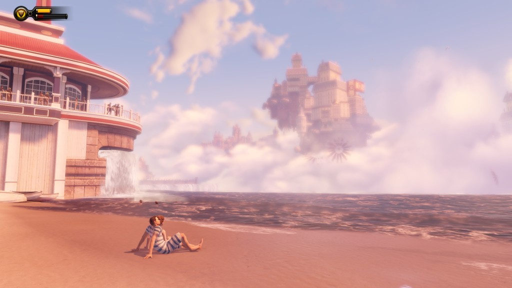 Bioshock Infinite beach