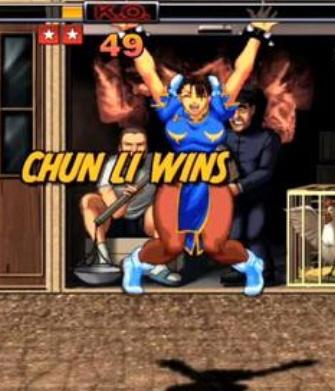 Chun-Li i jej nieśmiertelne podskoki.
