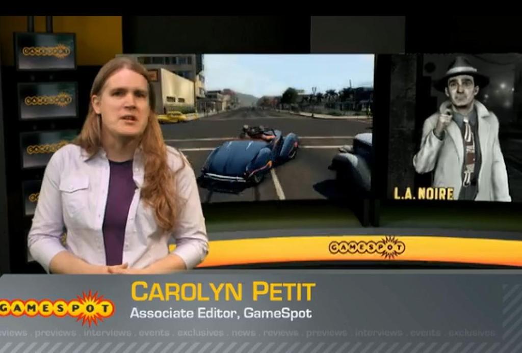 Carolyn Petit w akcji.