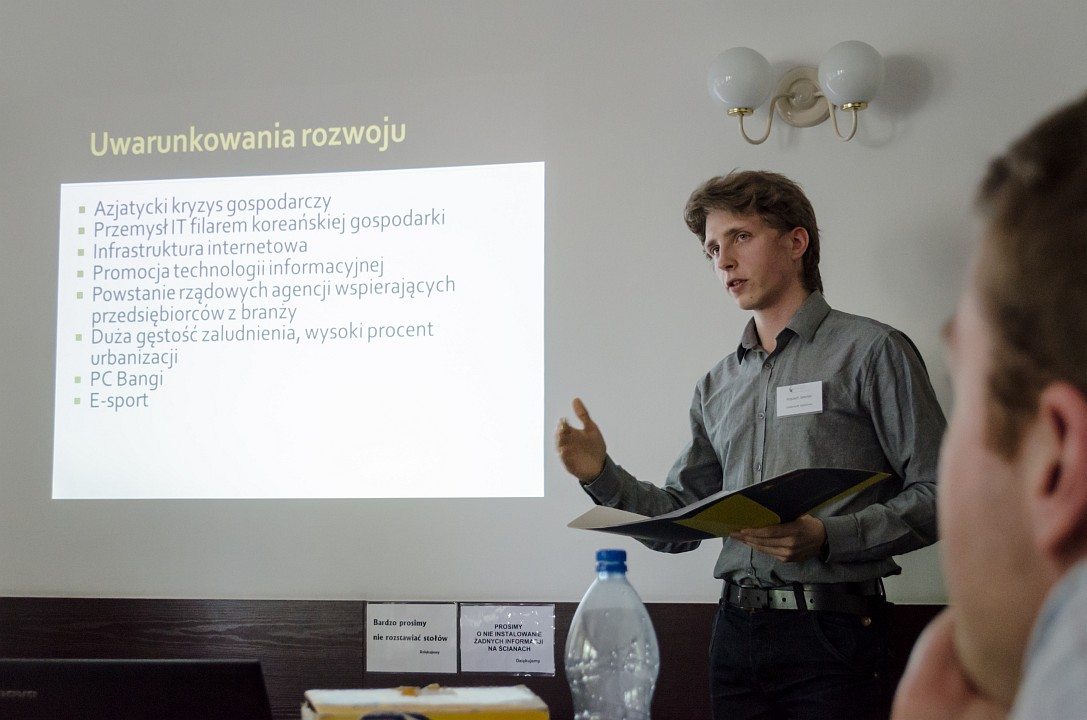 """Wojciech Jaworski, """"Rozwój elektronicznej rozrywki w Korei Południowej. Wpływ zjawiska na społeczeństwo"""""""