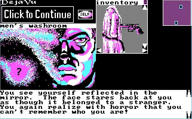 """""""Deja Vu"""" (1990) - amnezja w czterech kolorach CGA."""