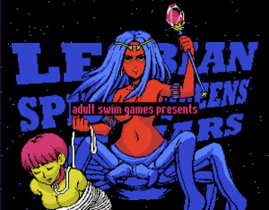 Lesbain-Spider-Queens-of-Mars