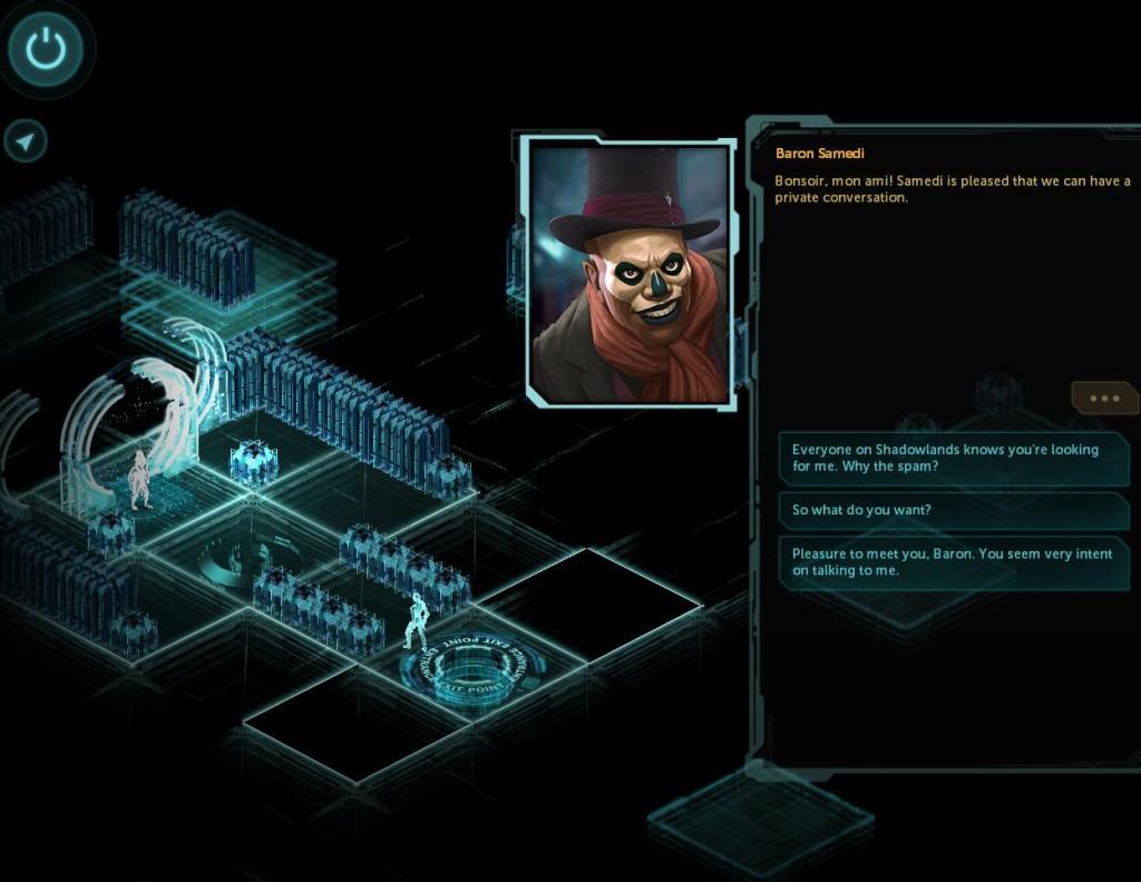Matryca/cyberprzestrzeń może po pewnym czasie trochę nużyć. Ale można w niej też spotkać dość oryginalne postaci.