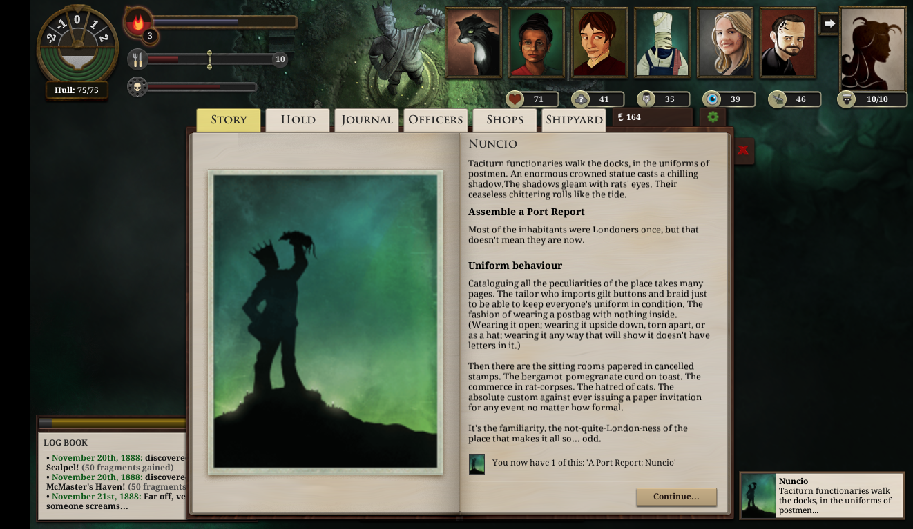 Sunless Sea Nuncio